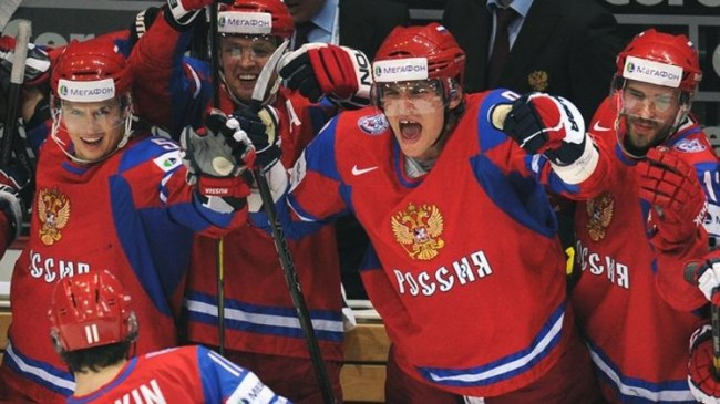 Ice Hockey Team Russia Sochi Winter Olympics