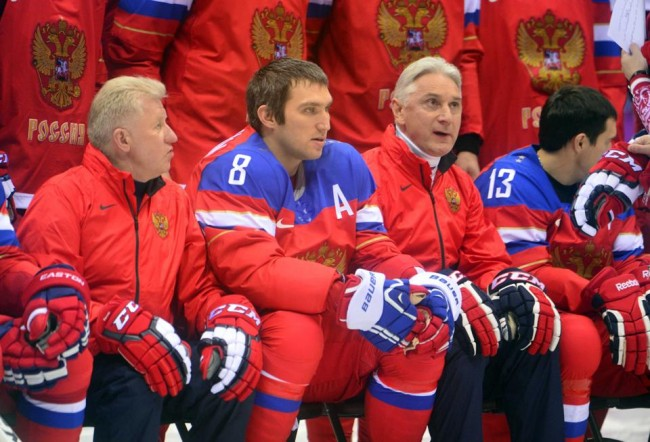 Team Russia Sochi Winter Olympics