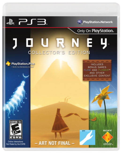 Journey PlayStation 3 Exclusive