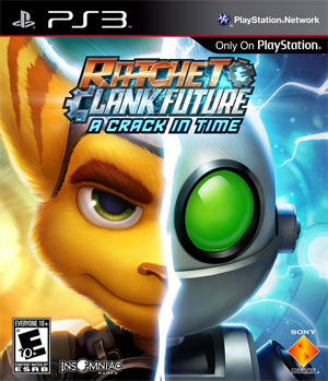 Ratchet and Clank Future A Crack in Time PlayStation 3 Exclusive