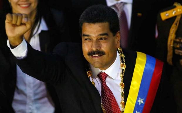 Venezuela Leader Maduro