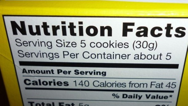 Nutrition Labels to Reflect Reality?