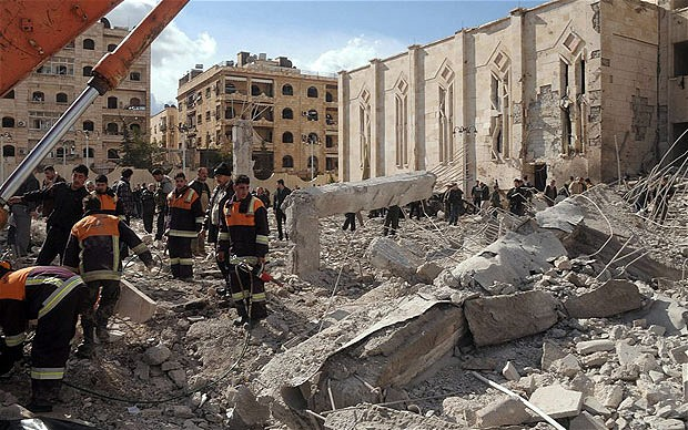 Aleppo Bombings Weigh Heavily on Civilians
