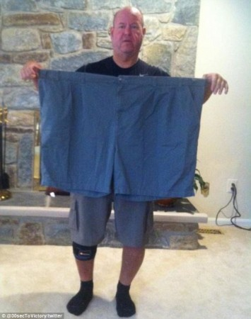 Obese Man Lee Jordan Loses Half His Weight for High School Sweet Heart