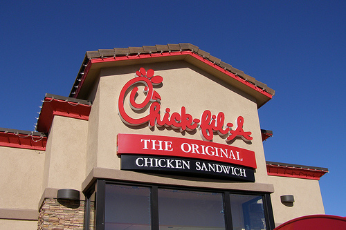 Chickens With a Healthy Promise From Chick Fil A Restaurants