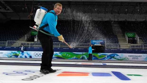 Curling Depends on The Ice Master