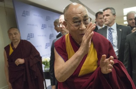 Dalai Lama Visits the U.S.
