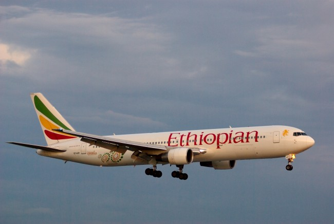 ethiopian airplane hijacked