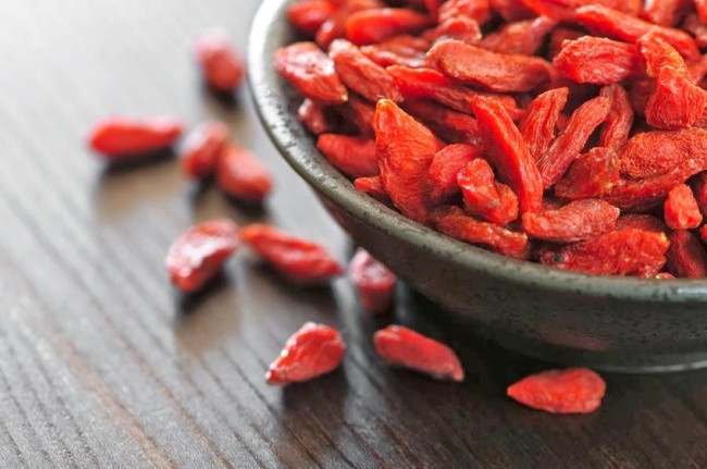 influenza goji berries