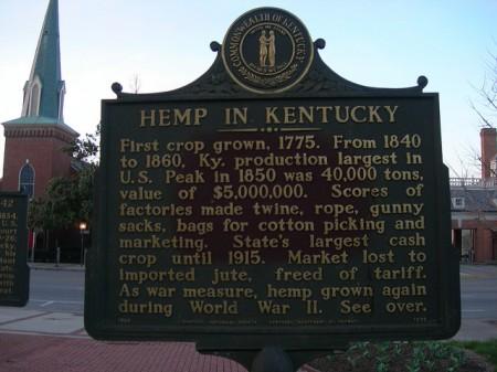 Kentucky Hemp Sign