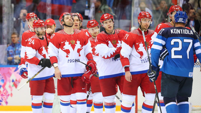 Ice Hockey: The Russians Have Fallen