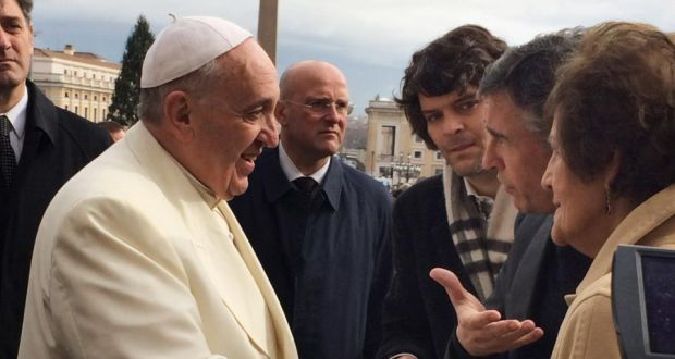 Pope Met With Philomena Lee
