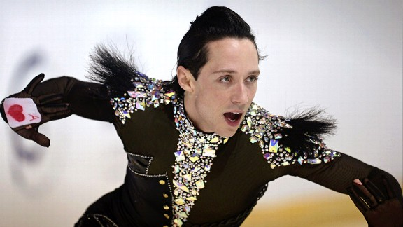 Figure Skating Champ Johnny Weir Wears a New Hat