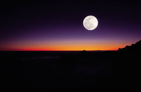 nasa night sky mezza luna - photo #9