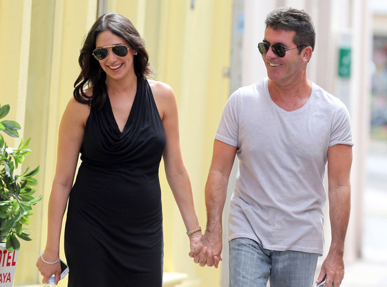 Simon Cowell and Lauren Silverman Have Valentine Day's Baby