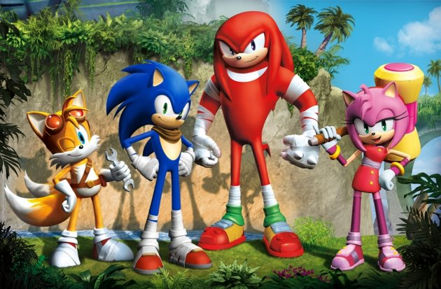 technology, entertainment, sonic boom, sonic the hedgehog, big red button, wii u, 3ds