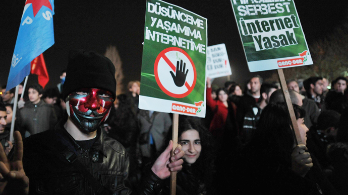 Internet Restrictions Approved in Turkey Limit Free Speech