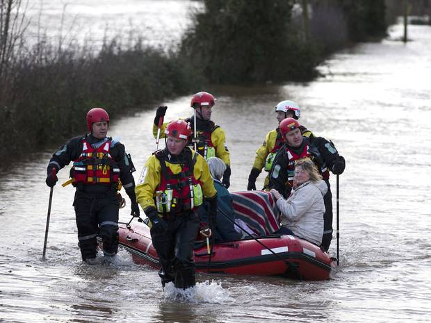 UK Flooding – Chance Weather or Political Blunders