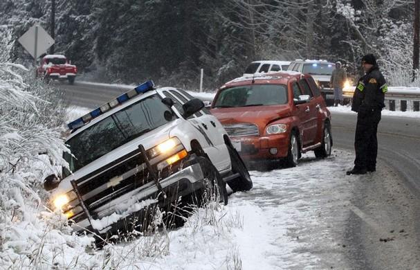 Washington and Oregon's Surprise Snowstorm
