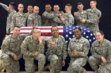 Wisconsin Soldiers Cause Furor Online With Casket Photo