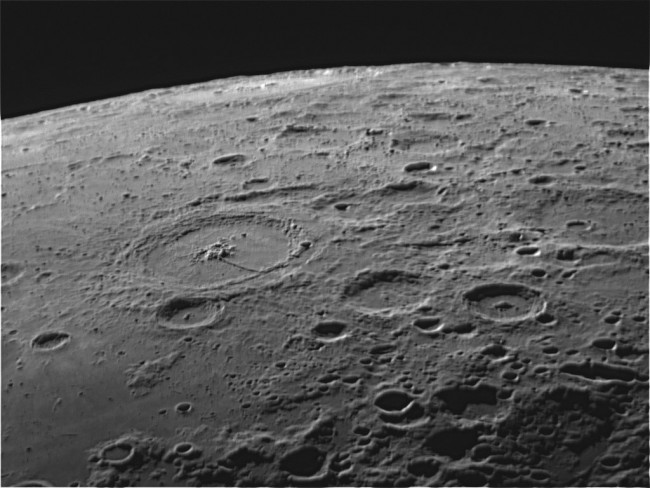 Astronomy Amateurs as Good as Pros in Determining Crater Count