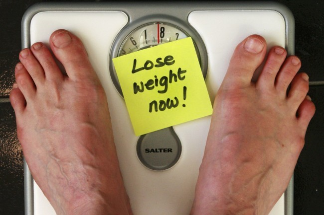 losing pounds