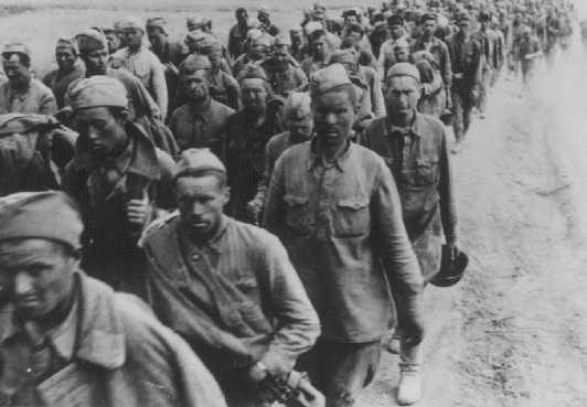 russian prisoners of war