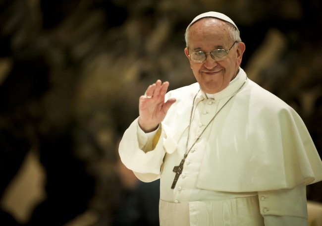 Pope Francis Curses During Sermon