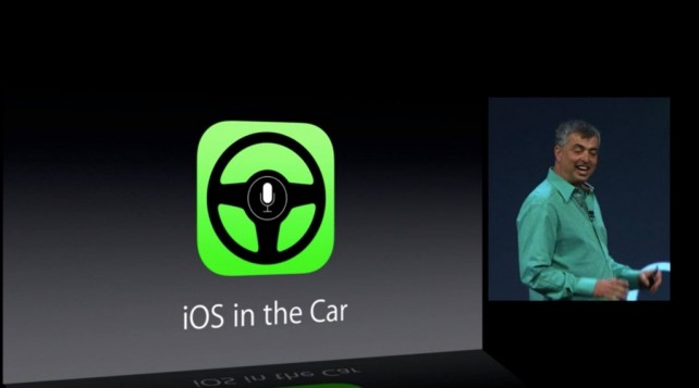 Apple iOS in Car Feature