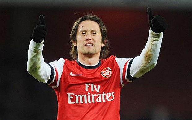 Arsenal FC Rides Rosicky to Win