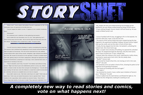 Creator of StoryShift App Marco Arsenault and Author James Renner Speak (Interview)