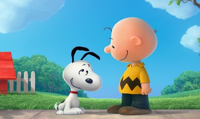 Charlie Brown and the Gang are working on a new movie