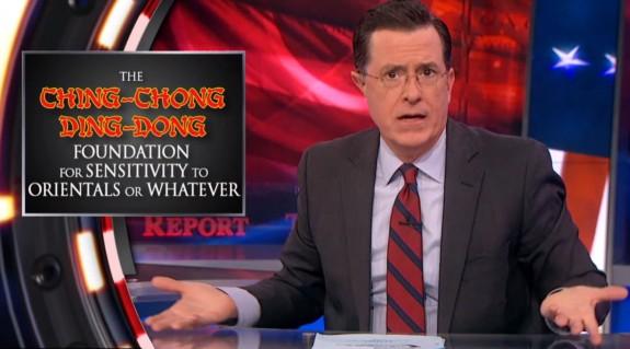 Twitter Backlash for Colbert