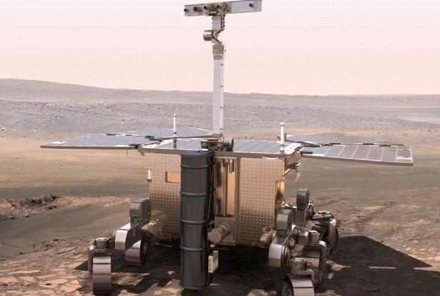 European Mars Rover Revealed