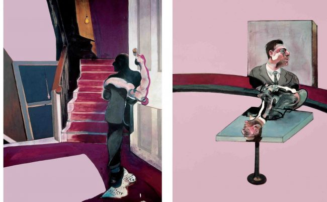 Francis Bacon Triptych in Amsterdam Church