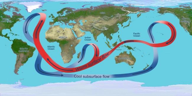Global Warming May Be Slowing Deep Ocean Currents