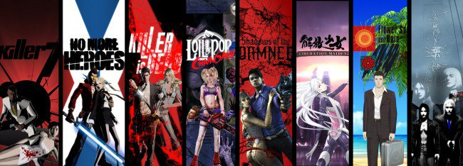 Suda 51 killer is Dead Lollipop Chainsaw Shadows of the damned and more