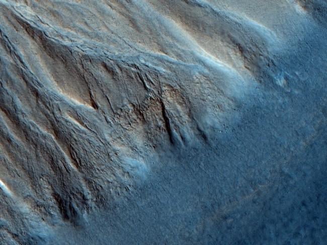 Mars gully