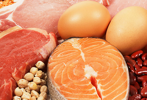 High protein diet food examples