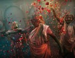 Whilst most of the western world is out celebrating Saint Patrick's Day today, in India, the spring festival of Holi has fallen on the date.
