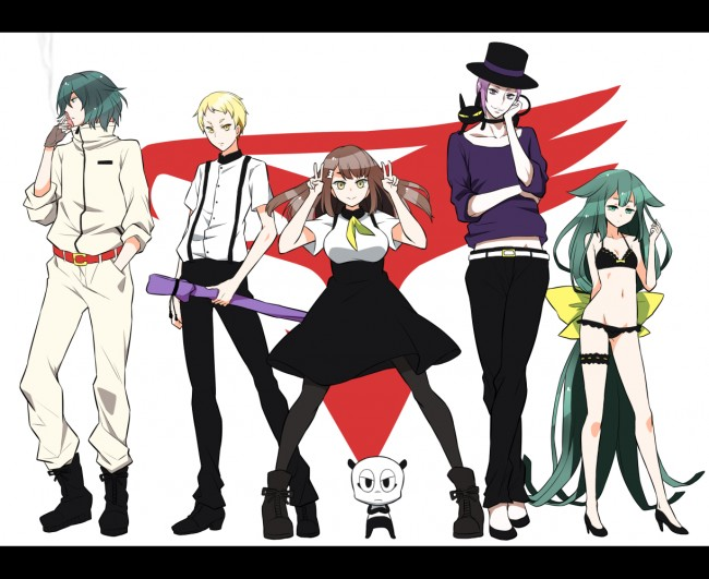 Gatchaman crowds new superhero anime from Tatsunoko Productions
