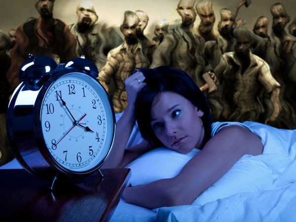 Insomniacs May Have Hyperactive Brains