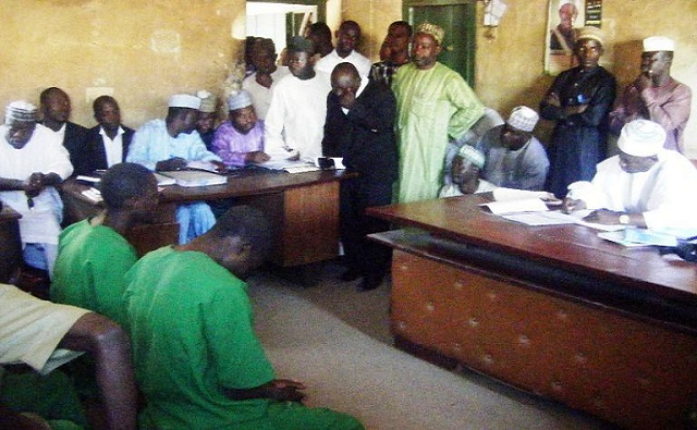 Four men beaten and fined for homosexuality acts in Nigeria Islamic Court