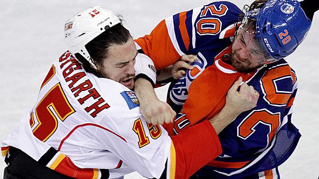 Edmonton Oilers Calgary Flames NHL Daily