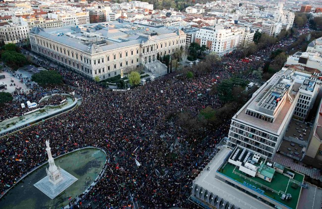 Madrid Protest March for Dignity Ends in Bloodshed