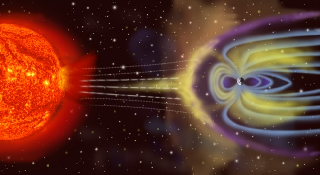 Plasma Shield Protects Earth From Solar Storm