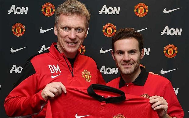 Manchester United FC Juan Mata