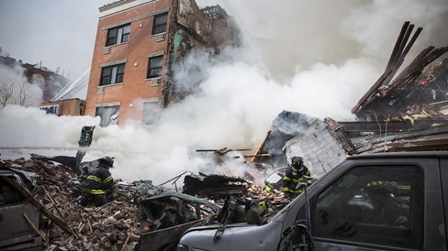 NYC building explosion