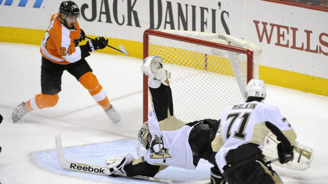 Pittsburgh Penguins Philadelphia Flyers NHL Daily