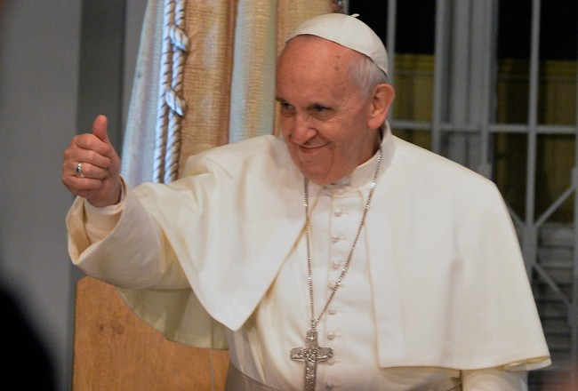Pope Utters Curse While Giving Weekly Blessing